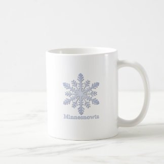 Minnesnowta Blue Snowflake Coffee Mug