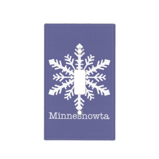 Minnesnowta Light Switch Covers