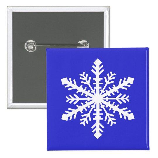 Minnesnowta Snowflake Pinback Button