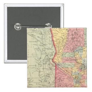 Minnesota 2 pin cuadrada 5 cm
