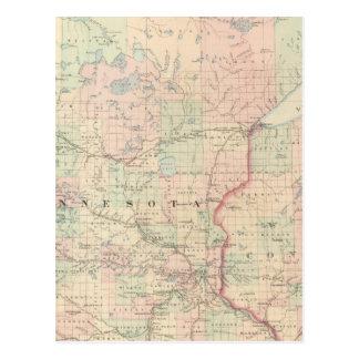 Minnesota 3 postcard