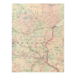 Minnesota 3 tarjetas postales
