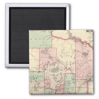 Minnesota 5 2 inch square magnet