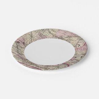 Minnesota 9 paper plate