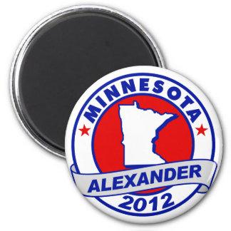 Minnesota Alexander Refrigerator Magnet