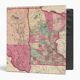 Minnesota and Dakota 3 Ring Binder