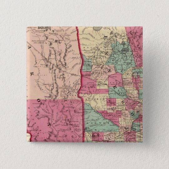 Minnesota and Dakota Pinback Button