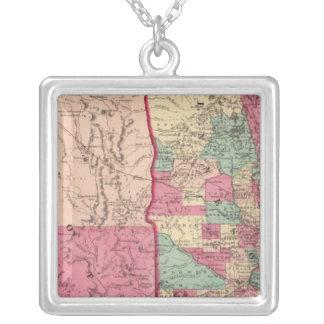 Minnesota and Dakota Silver Plated Necklace