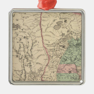 Minnesota and Dakotah Metal Ornament