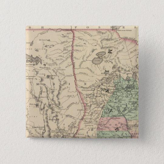 Minnesota and Dakotah Pinback Button