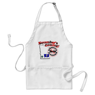 Minnesota Anti ObamaCare – November's Coming! Adult Apron