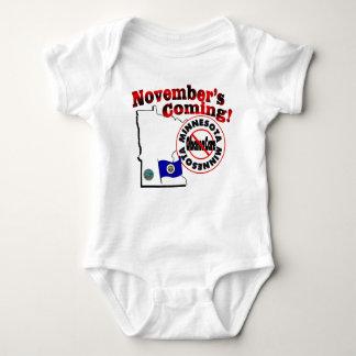Minnesota Anti ObamaCare – November's Coming! Baby Bodysuit
