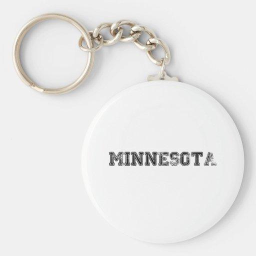 Minnesota apenado llavero personalizado