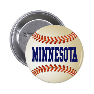 MINNESOTA BASEBALL PINBACK BUTTON