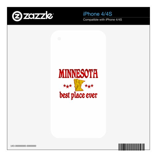 Minnesota Best Decals For The iPhone 4