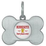 Minnesota Best Pet Name Tag