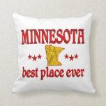Minnesota Best Throw Pillow