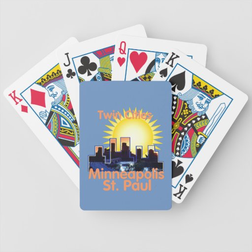 Minnesota Bicycle Playing Cards