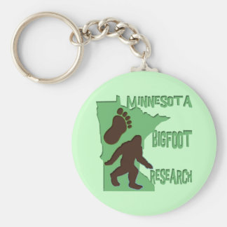 Minnesota Bigfoot Research Keychain