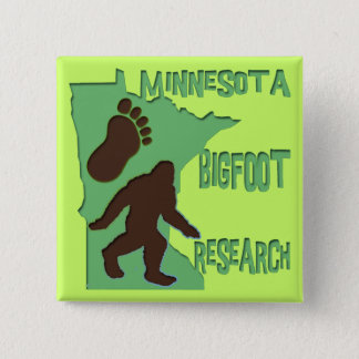 Minnesota Bigfoot Research Pinback Button