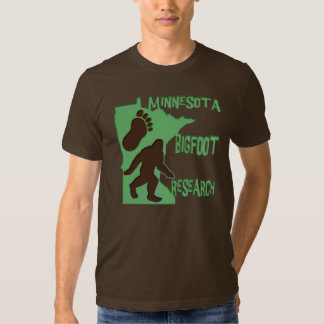Minnesota Bigfoot Research T-shirt