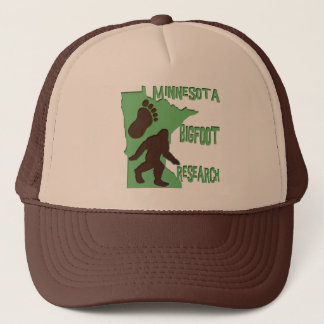 Minnesota Bigfoot Research Trucker Hat