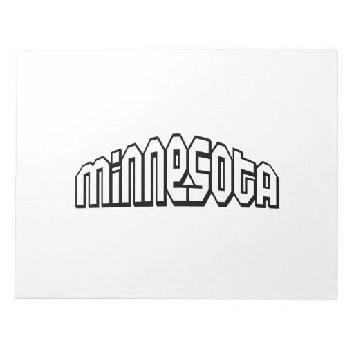 Minnesota Blocs De Papel