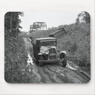 Minnesota Blueberry Pickers, 1937 Mouse Pad