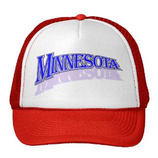 Minnesota bluecaps cap trucker hat