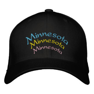 Minnesota bordó el casquillo gorra de beisbol