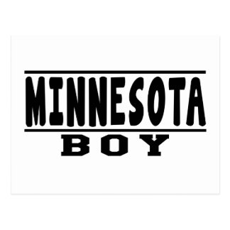 Minnesota Boy Designs Postcard