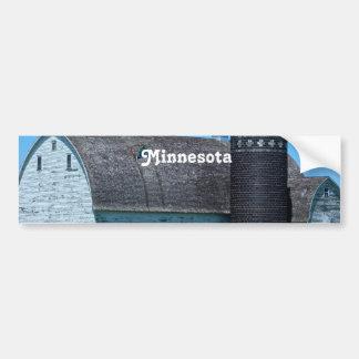Minnesota Car Bumper Sticker