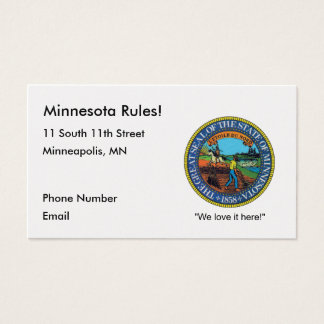 Minnesota Business Cards