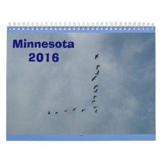 Minnesota Calendar 2016