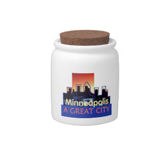 Minnesota Candy Jars