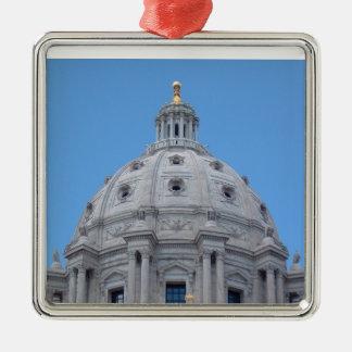 Minnesota Capitol Dome Metal Ornament