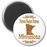 Minnesota casero dulce casero imán de frigorífico
