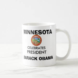 MINNESOTA Celebrates President OBAMA KEEPSAKES Classic White Coffee Mug
