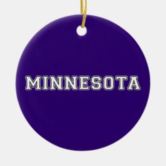 Minnesota Ceramic Ornament