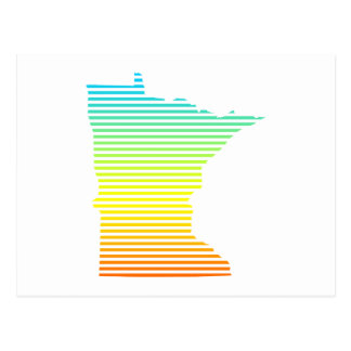 minnesota chill fade postcard