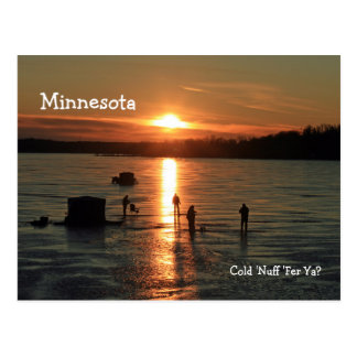 "Minnesota ""Cold 'Nuff 'Fer 'Ya?"" Post Card"