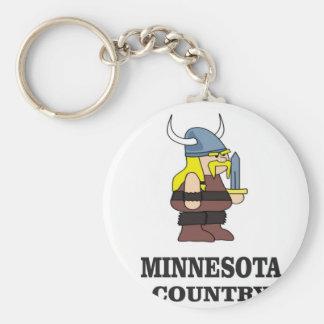 Minnesota country keychain