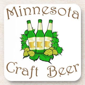 Minnesota Craft Beer Plastic Coaster