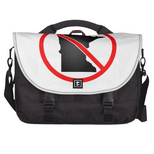 Minnesota Cross Out Symbol Bag For Laptop