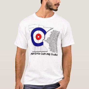 Valentines Themed Minnesota Curling Clubs T-Shirt