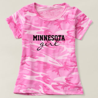 Minnesota Custom State & City Hometown Pride T-shirt