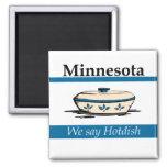 Minnesota: Decimos Hotdish Imanes De Nevera
