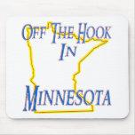 Minnesota - del gancho alfombrilla de ratones