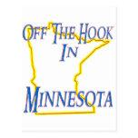 Minnesota - del gancho tarjetas postales