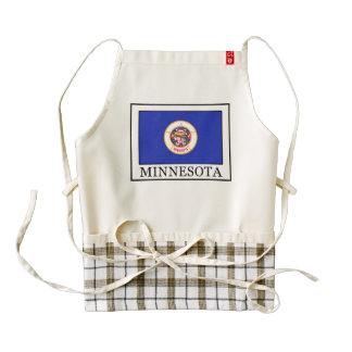 Minnesota Delantal Zazzle HEART